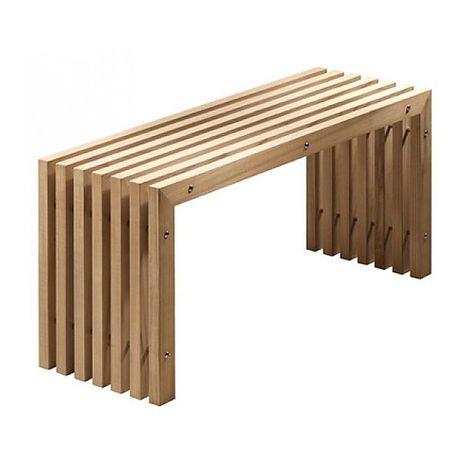 Emco Singles Interiors Holzbank   MEGABAD | Haus | Pinterest |  Paletten Möbel Für Draußen, Paletten Möbel Und Bänke