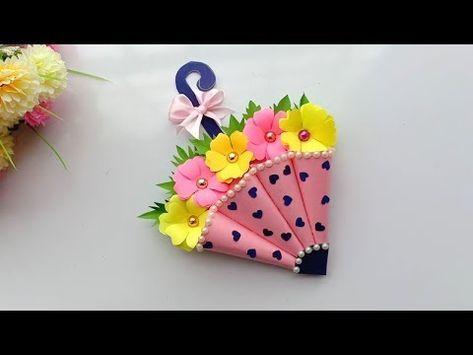 Beautiful Handmade Birthday Card Birthday Card Idea Youtube Beautiful Handmade Cards Handmade Birthday Cards Card Making Birthday