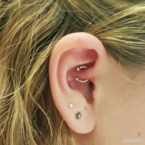 Ear piercing Diath .For further inquires kindly contact Nicol at exotic@exotictattoopiercing.com Exotic Tattoos & Piercings. Female piercer Singapore.  https://www.facebook.com/Exotic-Tattoos-and-Piercings-418666600080/