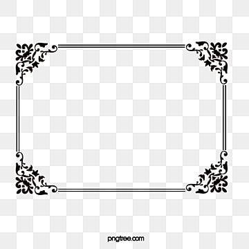 โครงลวดลมจ นส ดำ คล ปอาร ตจ น เฟรมภาพต ดปะ กรอบภาพ Png และ เวกเตอร สำหร บการดาวน โหลดฟร In 2021 Frame Clipart Clip Art Borders Frame Template