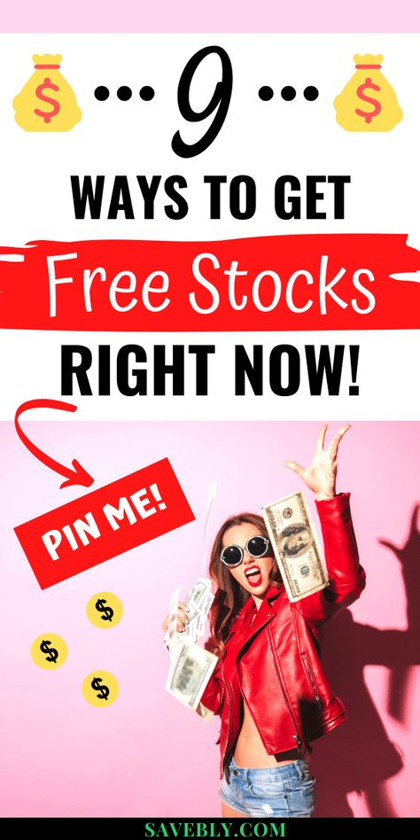 How To Get Free Stocks Right Now 9 Best Ways Stocks For