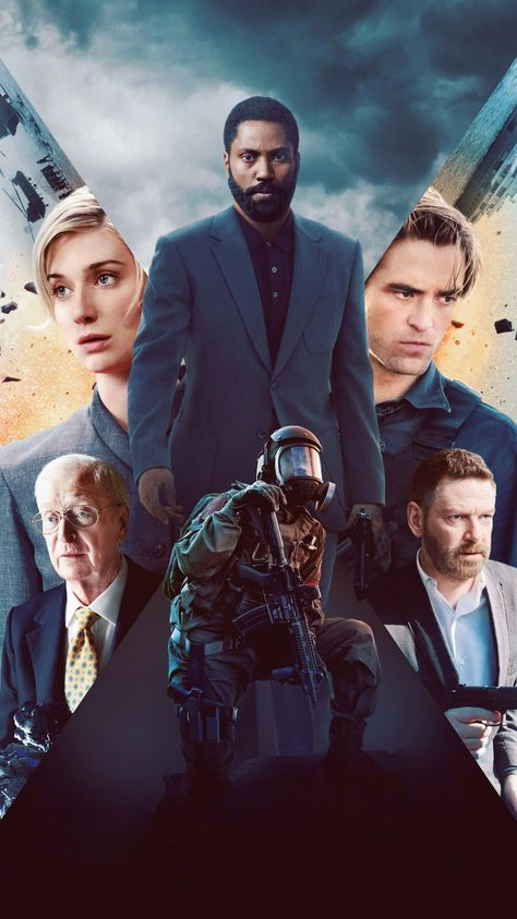Tenet (2020) Phone Wallpaper   Moviemania