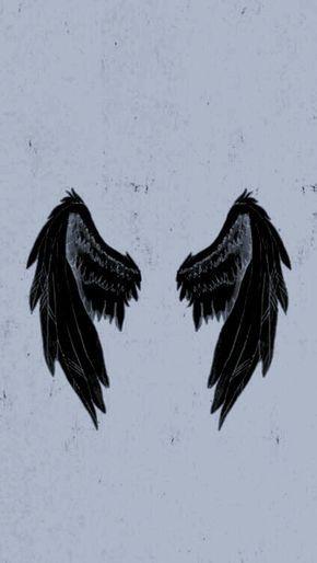 Wallpaper Bacground Wings Wings Wallpaper Angel Wallpaper Dark Wallpaper Iphone Aesthetic iphone angel wings wallpaper
