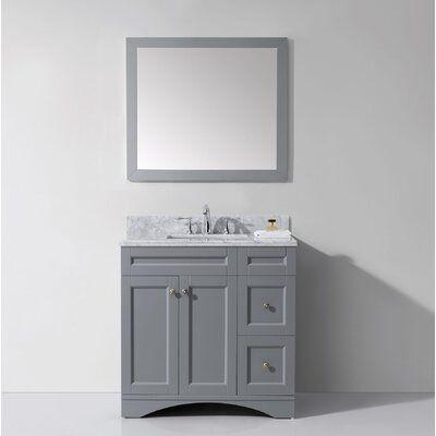 Brayden Studio Borough Park Modern 36 Single Bathroom Vanity Set