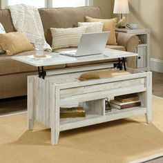 Riddleville Lift Top Coffee Table With Storage In 2020 Coffee