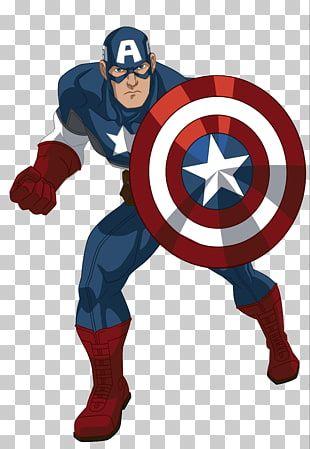 Capitan America Ilustracion Capitan America Iron Man Hulk Thor Cartoon Capitan America Png Clipart Iron Man Fan Art Man Illustration Captain America