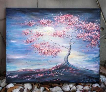 Painting Ideas On Canvas Love Life 25 Ideas Painting Tree Of