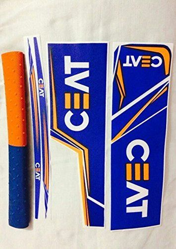 Ceat Cricket Bat Sticker With Grip Cricket Bat Bat Stickers