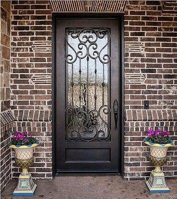 Pintu Depan Tanpa Pintu Kayu Iron Doors Wrought Iron Doors