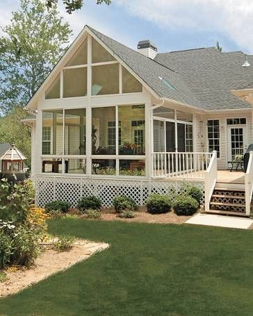 Luxury Sunroom Deck Plans