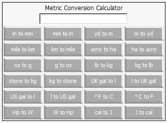Online Metric Conversion Calculator 1 00 Cooking