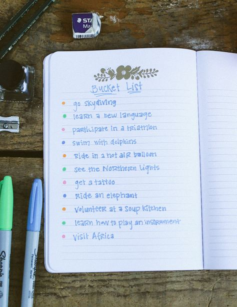 Sevenly Staff Challenge! In 1 week, all employees must check off 1 thing on their Bucket List! #sevenly