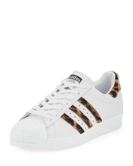 Adidas Superstar Leopard Sneakers