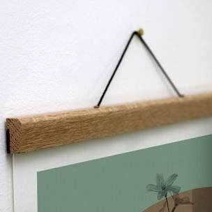 poster hanger diy wood frames diy