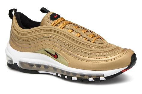 Nike Air Max 97 OG Goud (Golden Bullet) Rerelease | Nike air ...