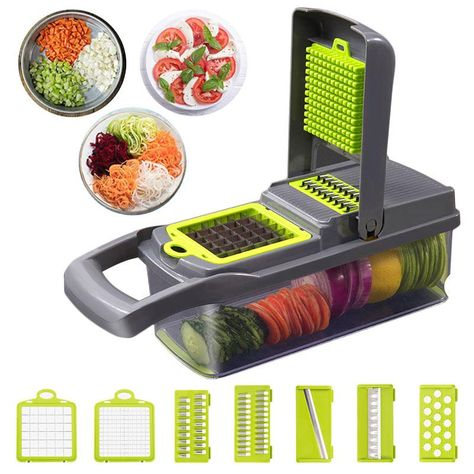 Cut and Store - Veggie Cutter with Case