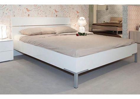 Composad Bett 180 X 200 Cm Hochglanz Weiss Privilegio