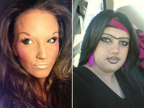 The world's worst eyebrows gallery | The winners