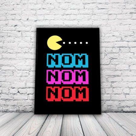 Retro Arcade Pacman Poster A3 Print Wall Art Home Decor Computer Game Amazon Co Uk Kitchen Home Retro Home Decor Retro Home Retro Arcade