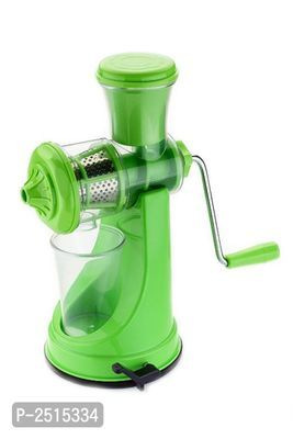 Fruit and Vegetable Juicer with Steel Handle Plastic Hand