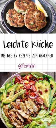 Leichte Küche: 3 fixe Rezepte für genussvolles Abnehmen ...