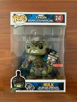 Ebay Sponsored Funko Pop Marvel 10 Hulk Thor Ragnarok 241 Target Exclusive Rare Vinyl Figure In 2020