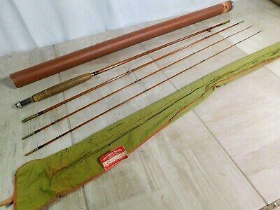 Ad Ebay Vintage Heddon N0 10 8 1 2 2 Tip Bamboo Fly Rod W Cloth Case Tube Bamboo Fly Rod Fly Rods Ebay