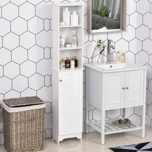 41++ Free standing metal bathroom cabinets ideas