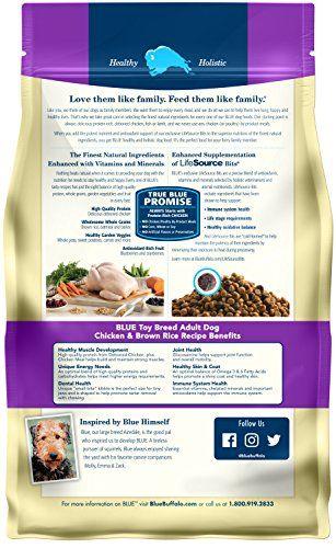 Blue Buffalo Life Protection Formula Toy Breed Dog Food Natural