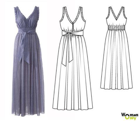 Легкое платье своими руками фото 954