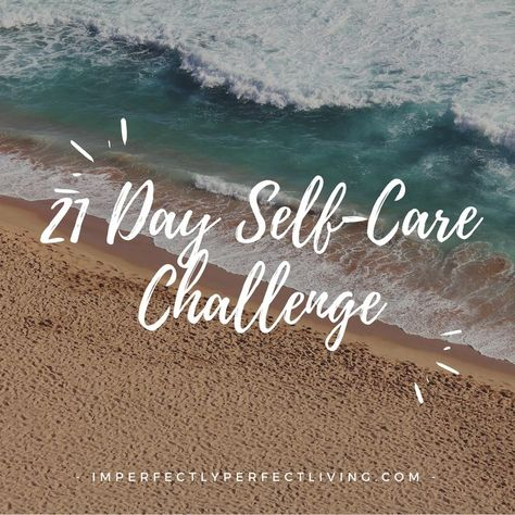 Take the 21 day challenge to make sure that stress doesn't become apart of your day, but instead relaxation.