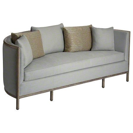 Mcguire Furniture Barbara Barry Lunette Sofa No C 65 Cool Stuff Pinterest Bench Coffe Table And