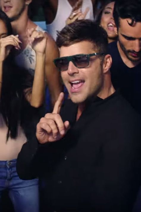 Celebrate The Weekend By Watching Ricky Martin S Vente Pa Ca Music Video On Repeat Ricky Martin Music Videos Celebrities