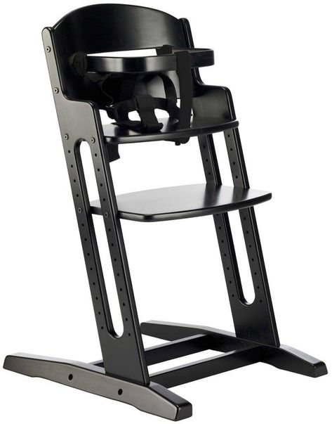 Baby Dan Meegroeistoel.Babydan Meegroeistoel Dan High Chair Zwart Kinderstoel