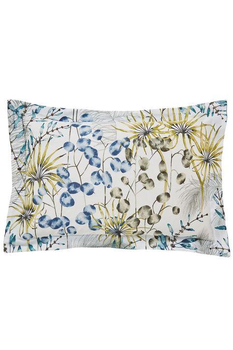 Harlequin Postelia Pillowcases Blue