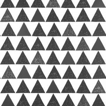 Tapete Schwarz Weiss Google Suche Geometrische Tapete Tapeten Grafische Muster