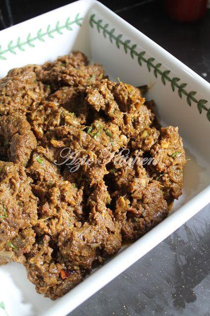 Rendang Daging Berempah Sedap Resep Masakan Resep Makanan Makanan