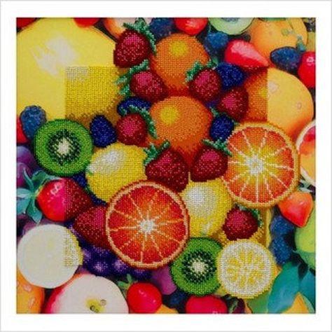 DIY bead embroidery kit,Beaded wall art.Decor kitchen beaded