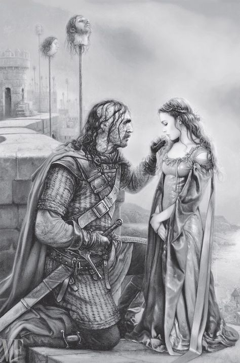 Ten exclusive images and behind-the-scenes stories from the illustrated volume of A Song of Ice and Fire.