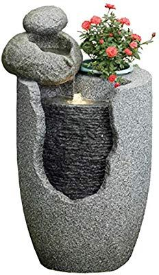 Activa Gartenbrunnen Garten Brunnen Garten Deko Mit Led