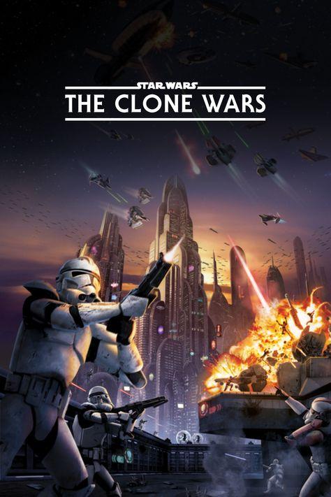 Star Wars: The Clone Wars (2008) Poster   TPDb