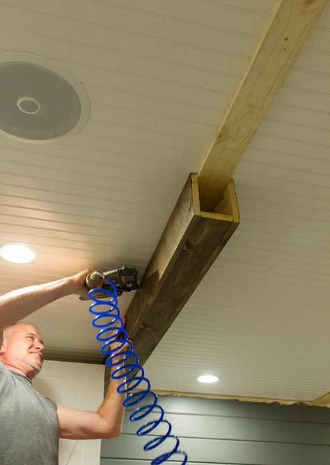 Jenna Sue how to build faux beams
