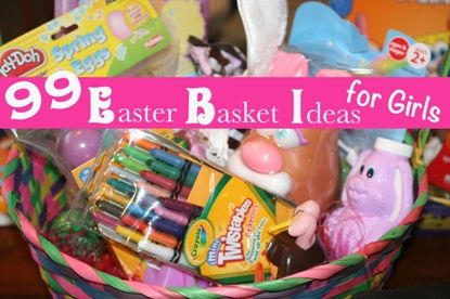 99 Easter Basket Ideas for Girls from FaithfulProvisions.com