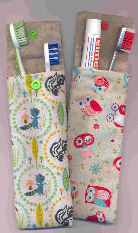 Etui brosse a dent - toothbrush/paste pouch Awesome 100 sewing projects tips are offered on our internet site. Awesome 10 Sewing tips are readily available on our internet site. Check it out and you wont be sorry you did. Tooth Brush and Tooth Paste holde