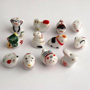 Chinese-Porcelain-Ceramic-12-zodiac-animal-beads