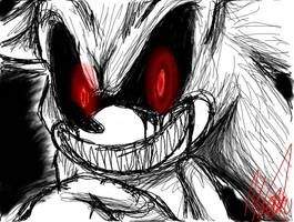 Sonic Exe By Toxicsoul77 Sonic Sonic Franchise Creepy Art