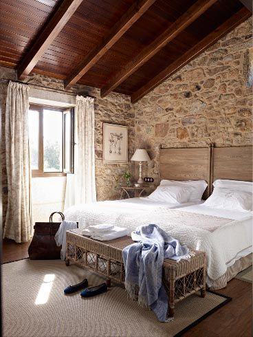 13 Habitaciones rusticas de madera