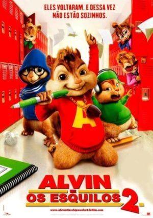 Dvd Alvin E Os Esquilos 2 Alvin E Os Esquilos 2 Alvin E Os Esquilos Alvim E Os Esquilos