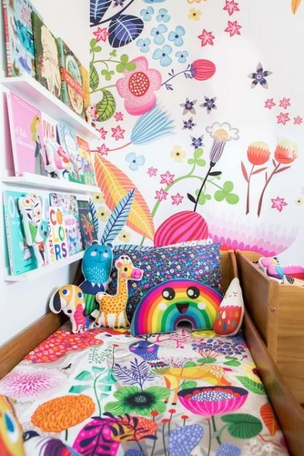 18+ Trendy wall shelves bedroom kids bookcases #wall #bedroom