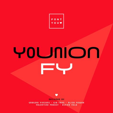 Younion Typeface
